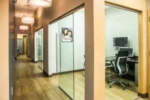 dental-care-morrisville-hallway-conference-room